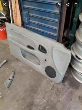 Panel tapizado interior puerta izquierda clio2 04' (3 puertas)