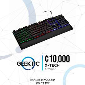 X-Tech Teclado Gamer Armiger