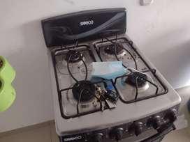 Estufa suizo con horno