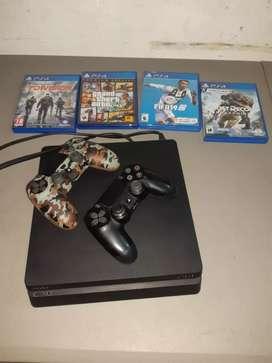 PlayStation 4 en excelente estado 10 de 10