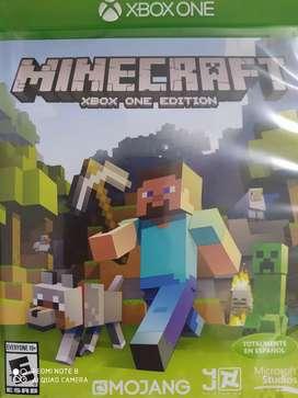 Vendo juego Minecraft de Xbox one