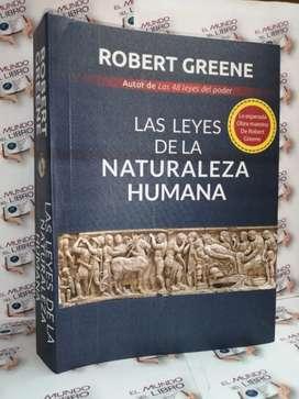 Obra maestra de Robert Greene  LAS LEYES DE LA NATURALEZA HUMANA