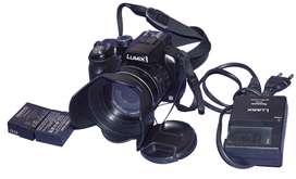 Vendo o cambio Camara Panasonic Lumix Fz200