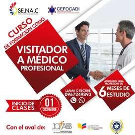 Curso de Visitador a Médico Profesional