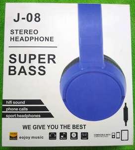 Diadema para Celular y Computadoras Super Bass J-08