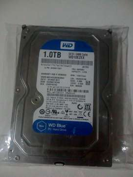 Disco Rígido 1.0tb *sin Uso* Wd Blue Windows 10 - 64 Mb!