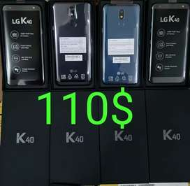 LG K40 DISPONIBLE EN NEGRO Y AZUL