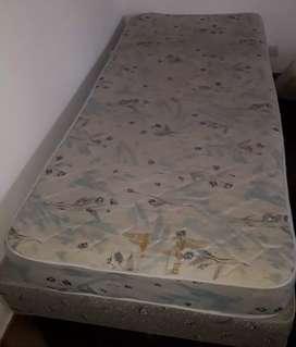 Colchón y sommier usado en muy buen estado