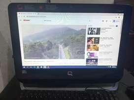 Computador Compaq 18 all in one