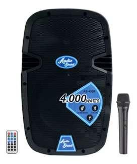 Cabina sonido nueva recargable micrófono Inalambrico