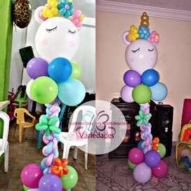 Arregla con globos