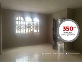 Alquiler de departamento en Urdenor 2 al Norte de Guayaquil cerca de Urdesa y Bosques del Salado