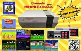 Mini Consola Super Retro Family Juegos Clásicos 2 Controles ENVIO GRATIS