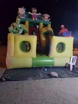 Vendo castillo inflable me niños