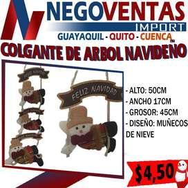 COLGANTE DE ARBOL NAVIDEÑO