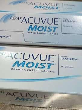 Remato lentes de contacto 1 day Acuvue Moist