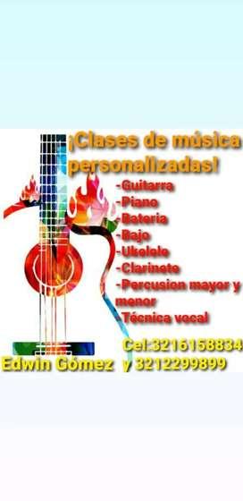 ¡Aprende a Cantar y a tocar tu instrumento preferido por tan solo 10.000 pesos!
