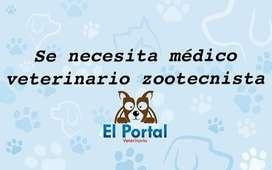 Se necesita médico veterinario
