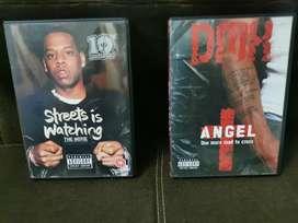 Dvds originales - Jay z the videos y DMX the videos the collection