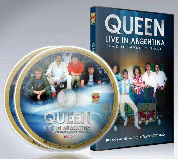 Queen Live In Argentina 1981 2 Dvd