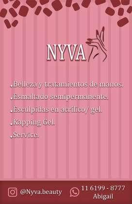 Manicura y uñas esculpidas - Nyva