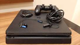 Ps4 Slim 1tb Usado + 1 Control
