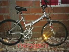 Bicicleta folding rodado 26