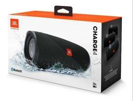 Parlante Bluetooth Jbl Charge 4 Negro Sumergible Original