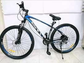 Bicicleta 29 Gti Pro Shimano 24 Vel. Cuadro Aluminio Freno Hidraulico