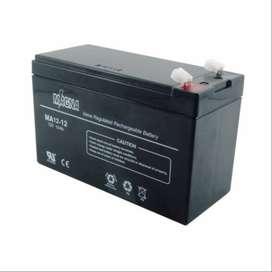 Solar Batería Sellada Agm Magna 12 Amperios  12 Voltios