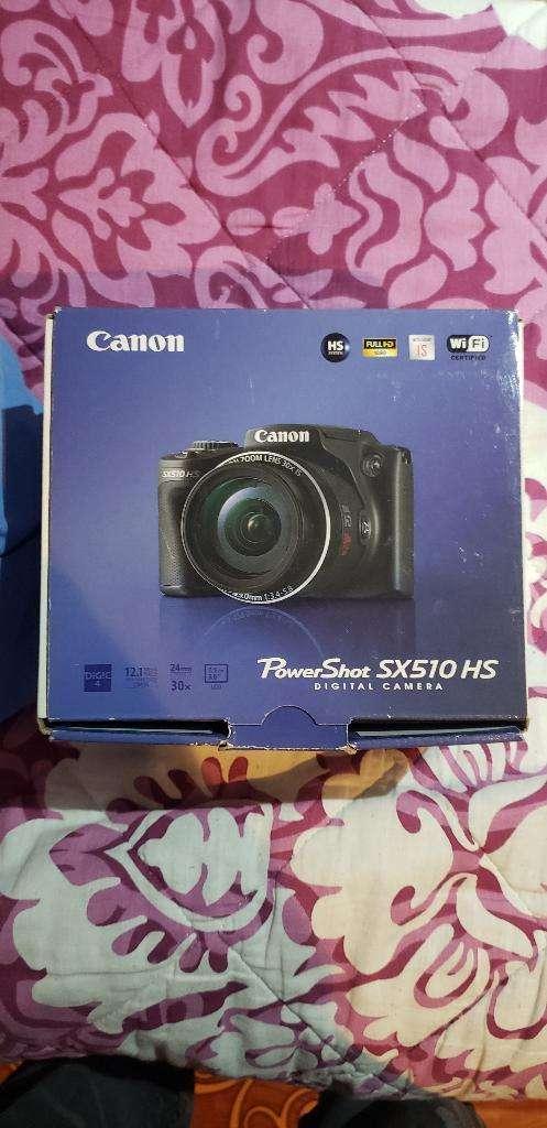 Camara Semiprofesional Canon Sx510 0