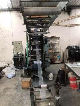 Inpresor para maquina 3 colores flexo