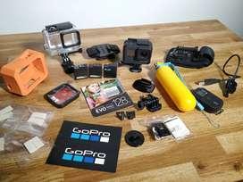 GoPro Hero 7 Black+Accesorios+SD128GB