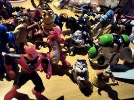 Lote de 8 juguetes Mc Donalds