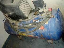 Compresor bota en buen estado