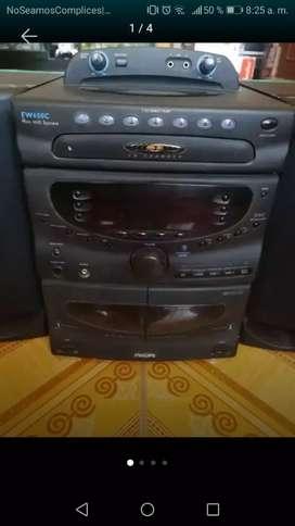 Vendo mini componente Philips fw 650c