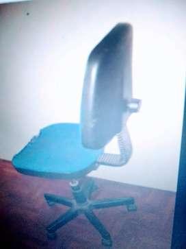 silla de escritorio de computadora con ruedas