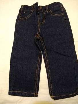 pantalon Jean Tommy Hilfiger T 18m azul sin uso