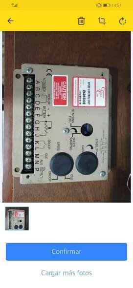 Controlador Velocidad Motor Grupo Electrogeno
