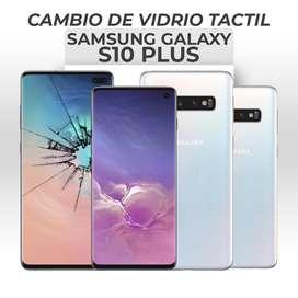 ¡Cambio de Vidrio Tactil Samsung Galaxy S10 Plus!