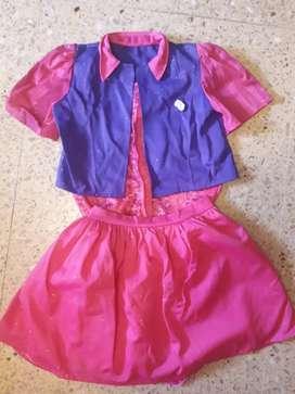 Disfraz Original Violeta 7- 8 años.