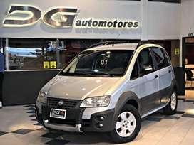 FIAT IDEA ADVENTURE 1.8GNC   232.000 KM   2007 RECIBIMOS MENOR Y FINANCIAMOS