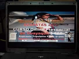MIRANDO HACIA EL FUTURO AZAFATAS 2021 CURSO ONLINE PRESENCIAL