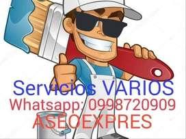 SERVICIOS PINTURA Y EMPASTE INTERIUORES