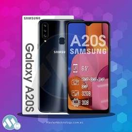 Samsung A20S 32GB - 3RAM Smartphone Teléfono  celular