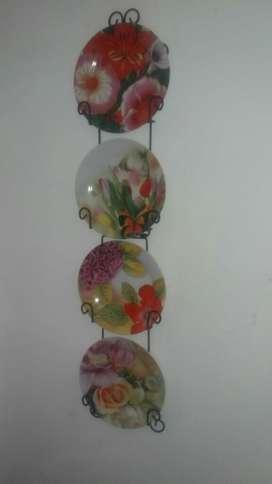 Rack 4 Platos  Bowl Floris