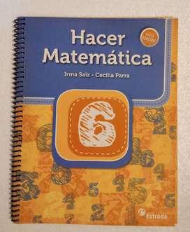 Hacer matemática 6
