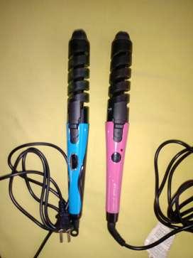 2 Rizadoras para cabello