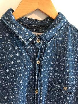 Camisa Mangas Cortas sin uso