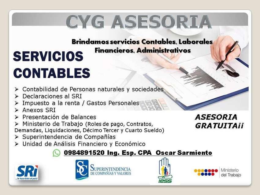 SERVICIOS CONTABLES / CONTADOR EXTERNO 0